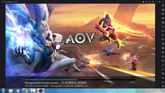 AOV Error Kode  556793874 Fix Sekarang Bisa Update Lancar 4