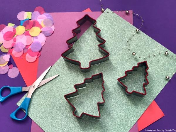 Christmas Tree Sun Catcher Card