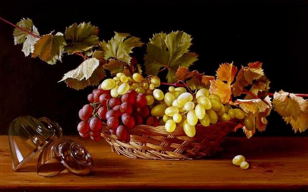 Открытки с виноградом доброе утро, открытки как сделать