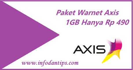 Mengenal Paket Warnet Axis 1gb Hanya Rp 490