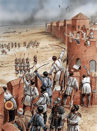 El Imperio de Occidente había caído, pero una situación muy diferente se daba en Oriente, donde bajo el reinado de Justiniano I, se vivió una época de esplendor. Uno de los motivos de aquella situación fue gracias a Belisario.