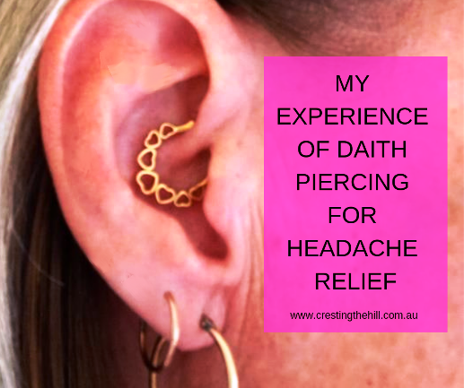 My first hand experience of Daith piercing and how it affected the amount of headaches I've been having. #daith #migraine