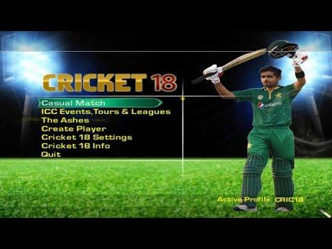 cricket 2018 game download utorrent