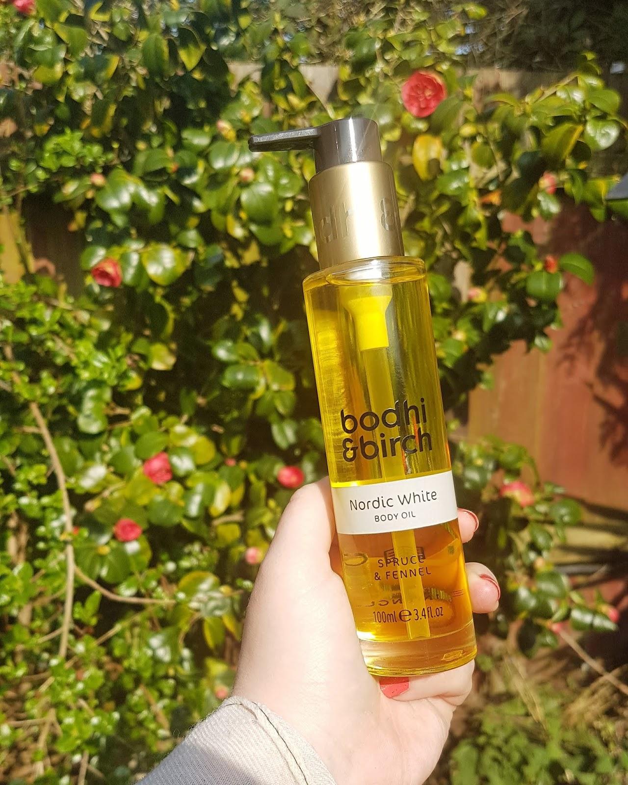 Bodhi & Birch Nordic White Body Oil Review