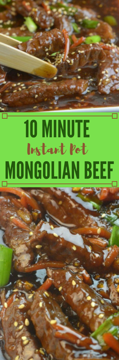 INSTANT POT MONGOLIAN BEEF #dinner #beef #instan #food #healthyrecipes