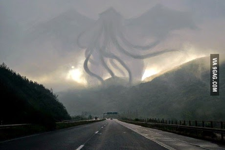 Funny FSM Cthulhu He Is Risen! Picture