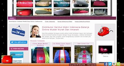 Distributor Selimut Mobil, Cover Mobil, Sarung Mobil