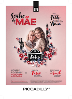 Promoção Dia das Mãs Piccadilly 2019