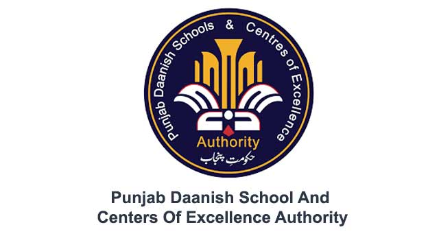 Jobs in Punjab Daanish School And Centers Of Excellence Authority 2020 Latest
