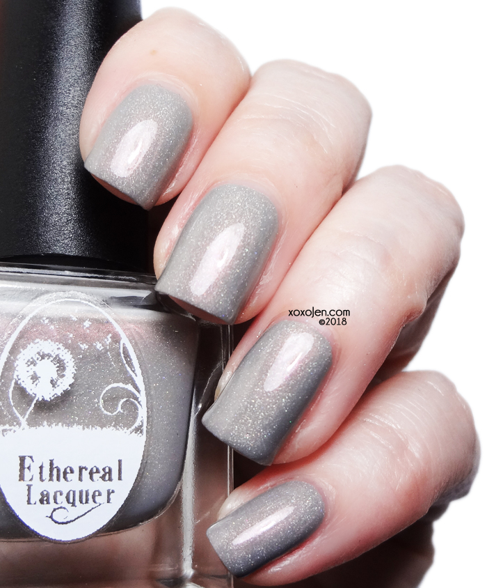 xoxoJen's swatch of Ethereal Lacquer Curiouser and Curiouser