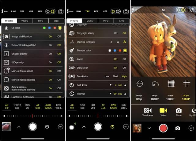 ProCam 5 Aplikasi Kamera iPhone Terbaik