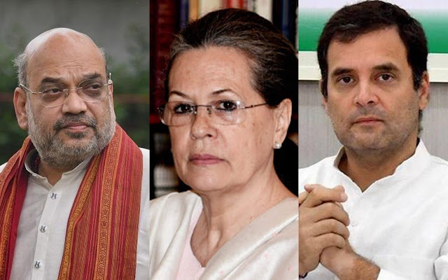 Rahul-Sonia is not supporting the Gupkar alliance,they are supporting the Gupkar gang- Amit Shah