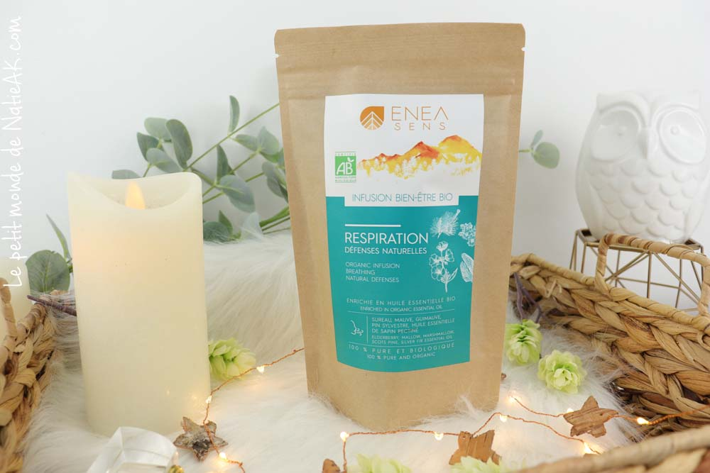 infusion Respiration & défenses naturelles Enea sens