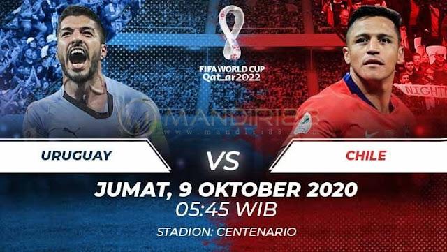 Prediksi Uruguay Vs Chile, Jumat 09 Oktober 2020 Pukul 05.45 WIB @ Mola TV