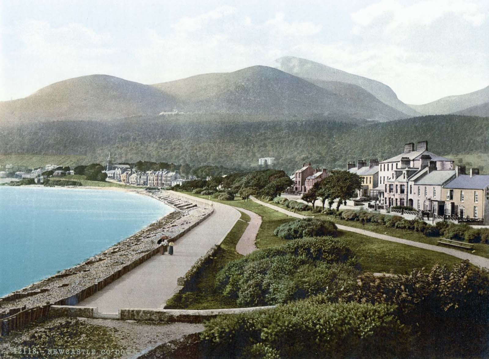 old color images ireland