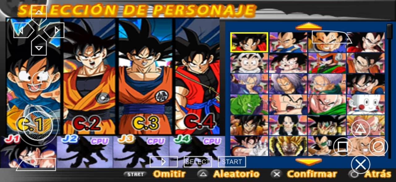 DBZ TTT Mod Dragon Ball Super