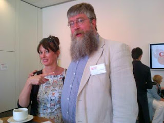 Authors Liz Pichon and Philip Ardagh