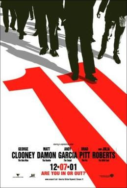 Ocean's Eleven Poster - By Source, Fair use, https://en.wikipedia.org/w/index.php?curid=9045976
