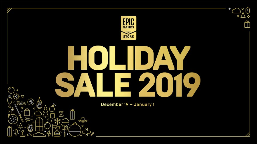 epic games store holiday sale 2019 pc games egs