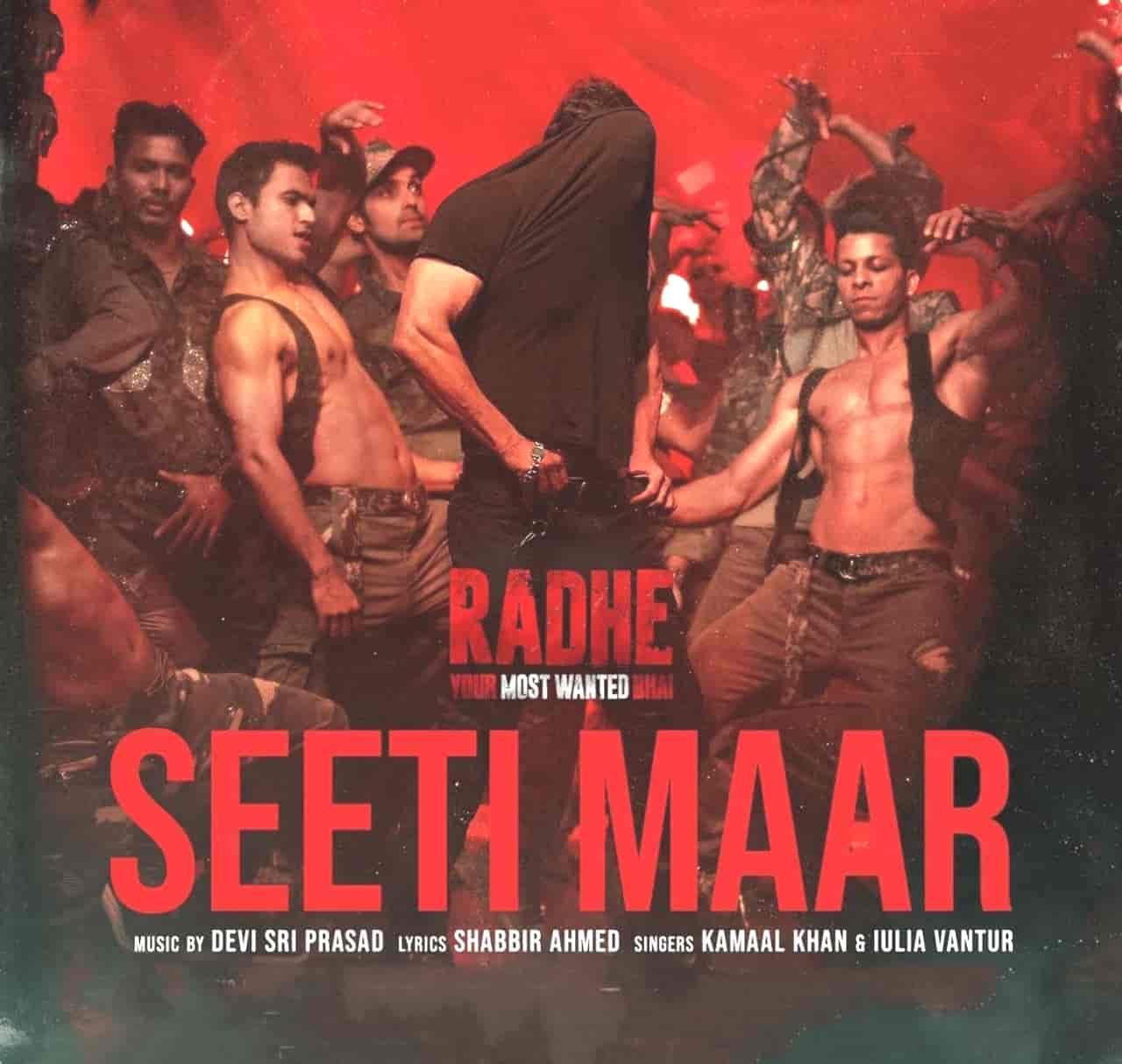 Seeti Maar Hindi Song Lyrics Radhe