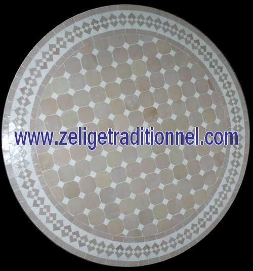 Deco Zellige Blogspot Com Table Mosaique Zellige Marocain En