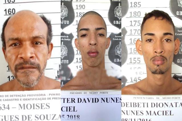 Residência da mãe de cabo da PM é alvo de furto e três são presos em flagrante