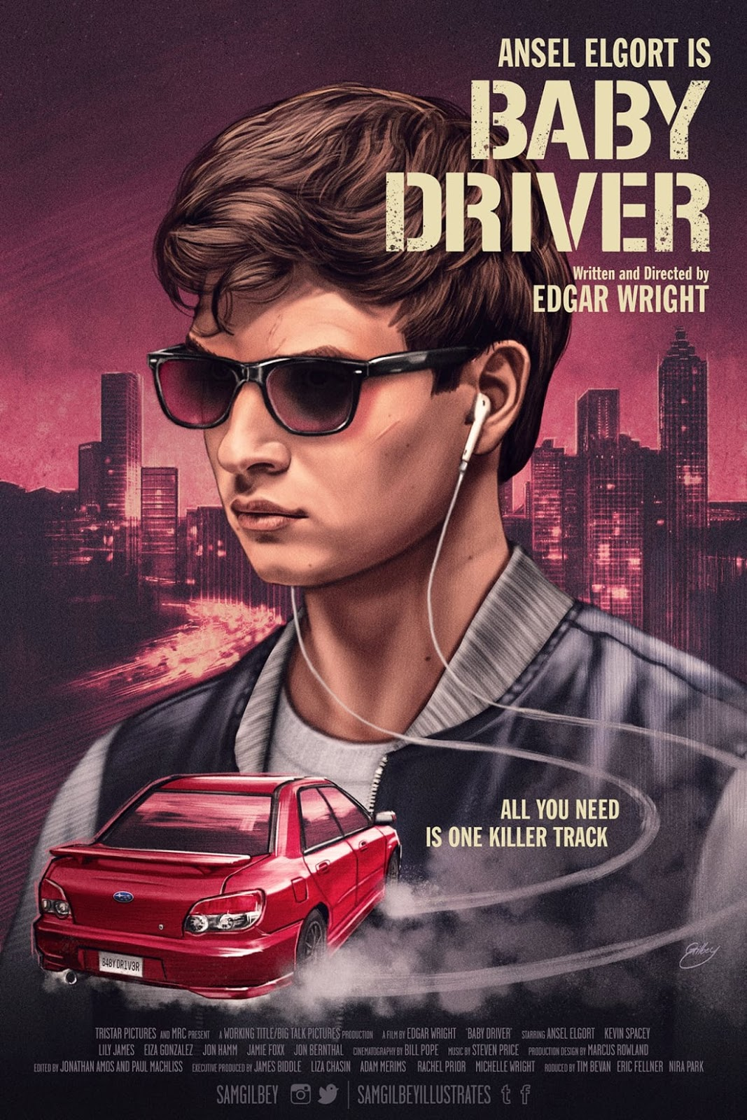 Baby Driver Kino