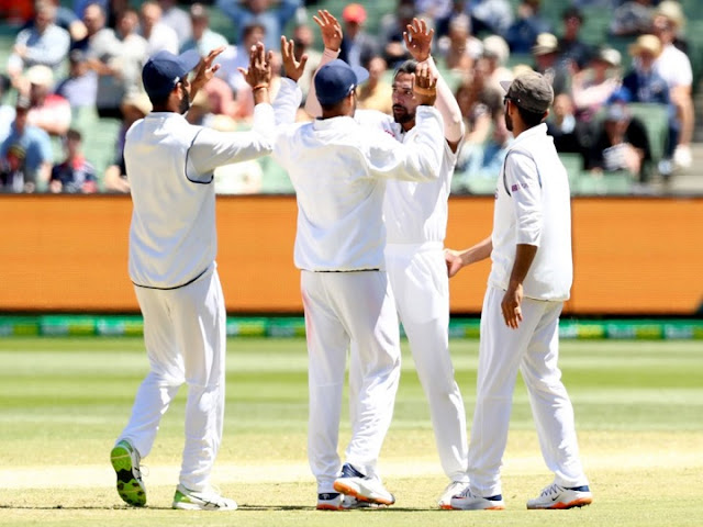 Team India created history, Fateh of Melbourne Fort