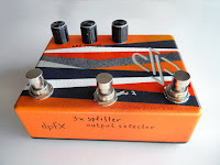 dpFX Splitter & Output Selector w/ LPF cotrols, amp selector