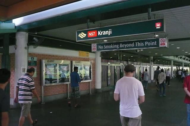 Ga tàu điện ngầm Kranji singapore
