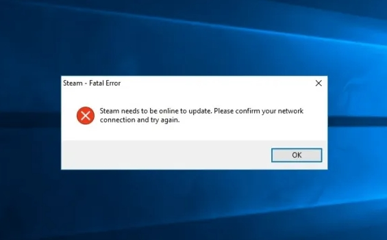 Fixed: Steam Needs to be Online to Update Error in Windows 10 – Complete Guide