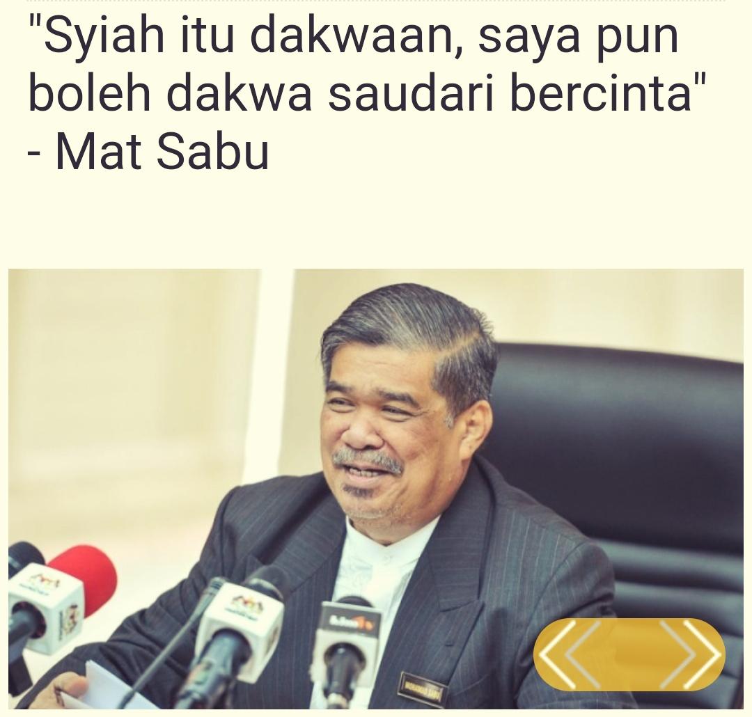 Mufti Mahu Mat Sabu Berikan Penjelasan Snapshot