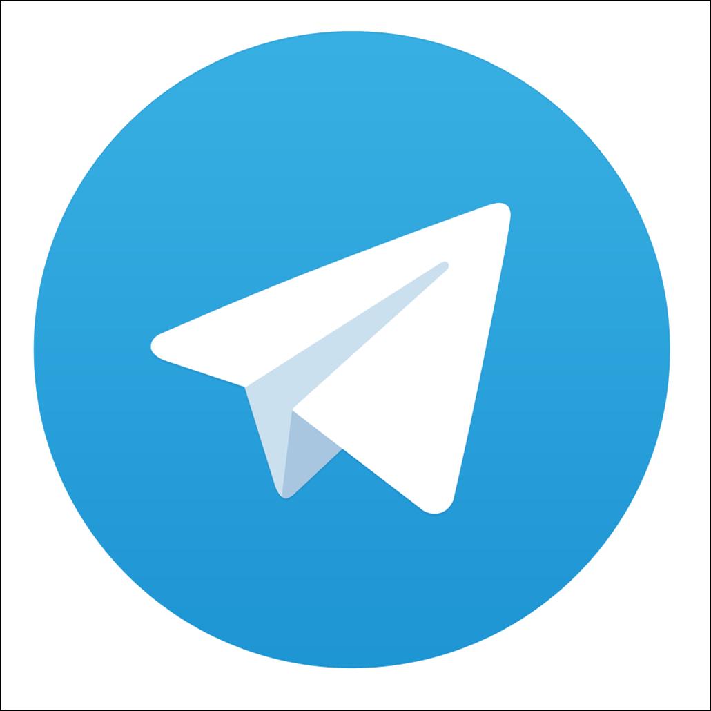 Telegram App logo Icon