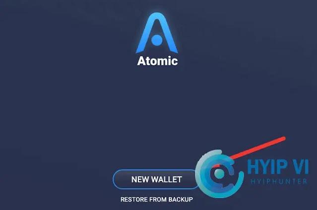 Toạ ví Atomic Wallet