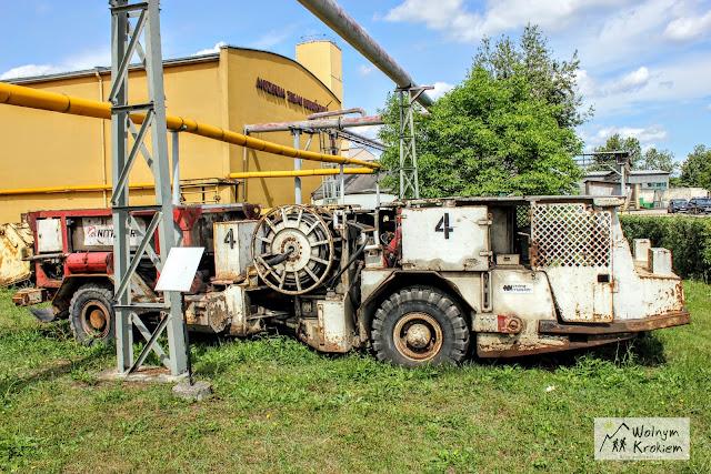stare maszyny górnicze Lubin