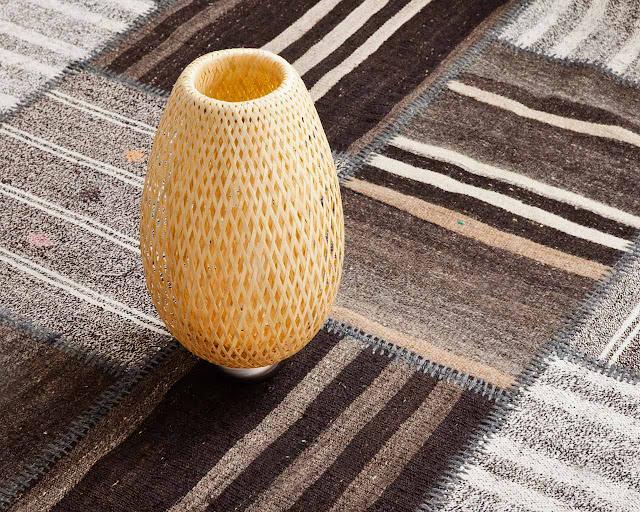I tappeti patchwork sono realizzati in Turchia regione nota per i suoi tappeti di prim'ordine