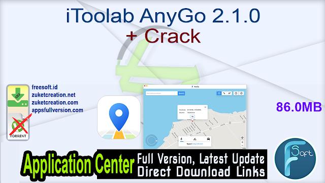 iToolab AnyGo 2.1.0 + Crack