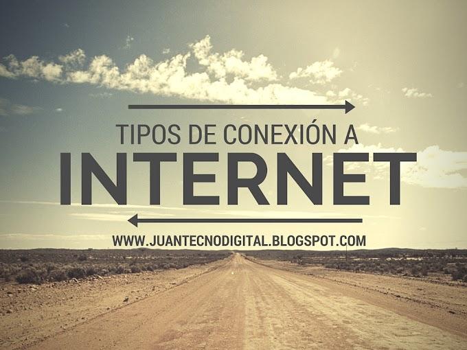 TIPOS DE REDES DE CONEXION A INTERNET