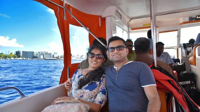Ajay and Ananya at Maldives