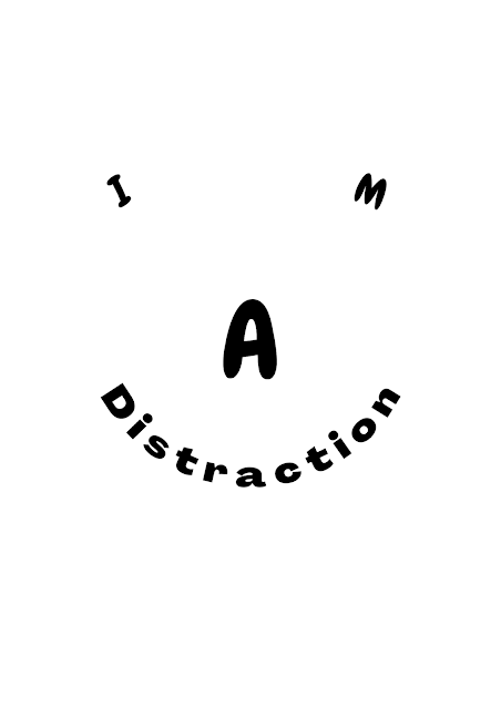 Phones makes you unconscious, slouching back, strain in eyes and headache, addictive, forget to smile, when to sleep, when to eat? I'm a distraction