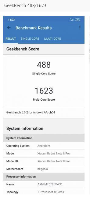 Xiaomi Redmi Note 8 Pro Testing