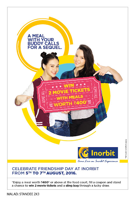 BLOCK YOUR CALENDAR FOR A MAGICAL FRIENDSHIP DAY AT INORBIT MALL, MALAD
