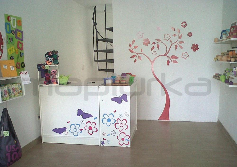 Mapiurka adhesivos decorativos ba deco tienda regalos for Decoracion de interiores logo