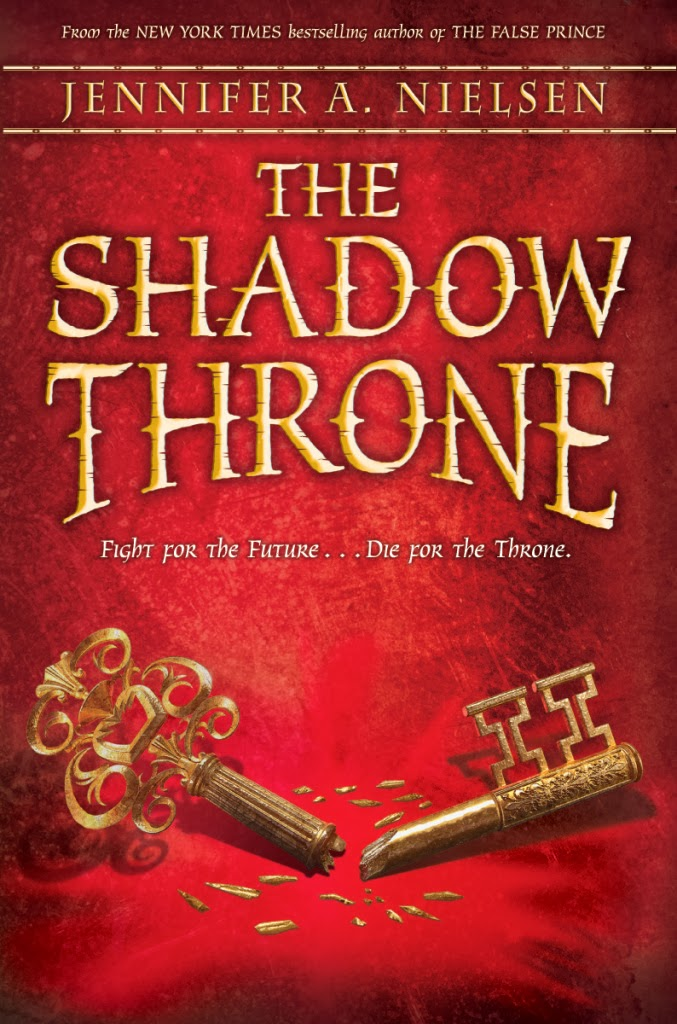 The Shadow Throne, by Jennifer A. Nielsen (early review)