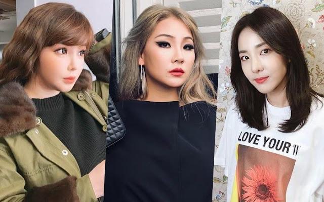 Park Bom dan Sandara Park Memberi Dukungan Pada CL Atas Kolaborasinya dengan Black Eyed Peas