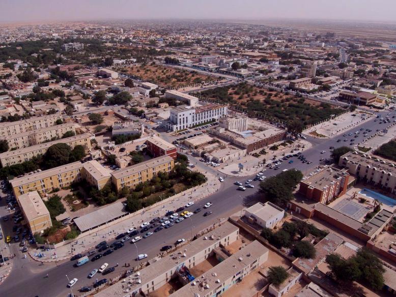 Países do Continente Africano: Mauritânia