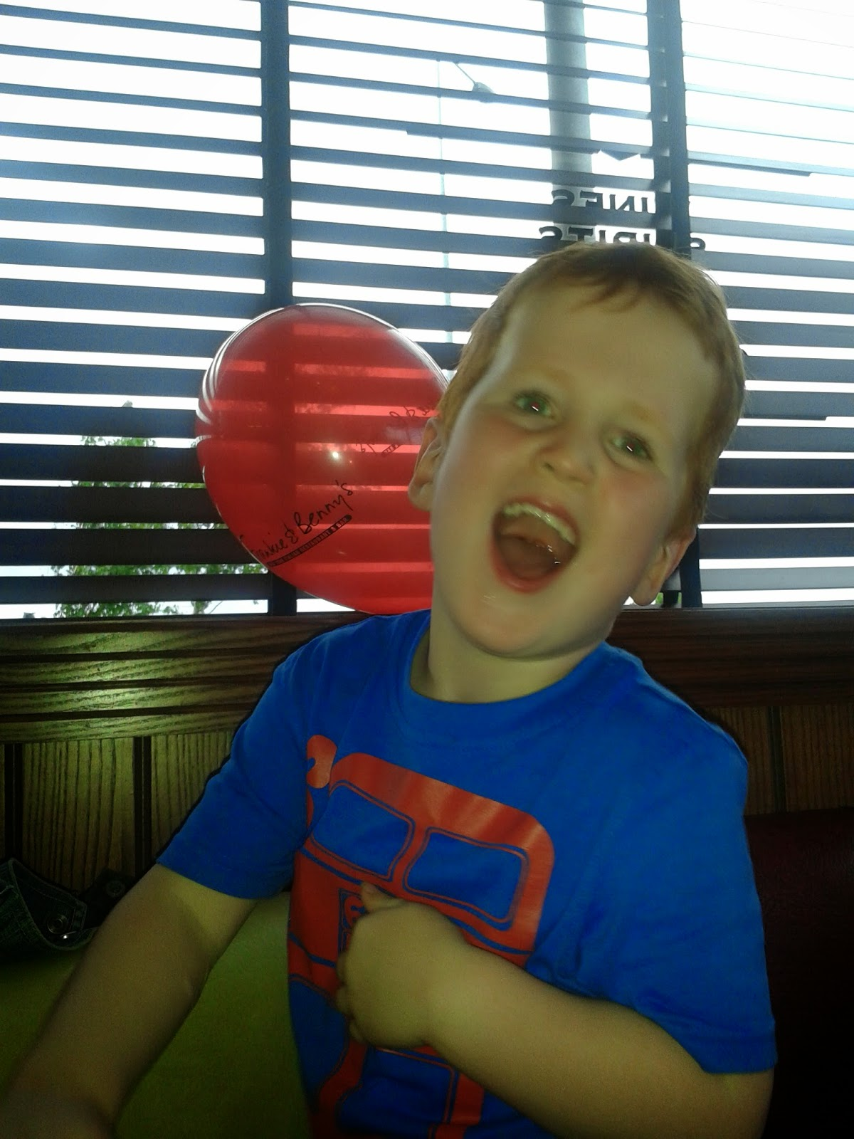 Ieuan at Frankie & Bennys in Cardiff