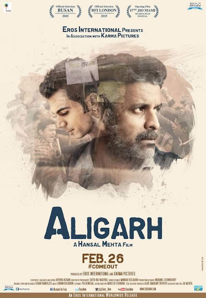 Poster of Aligarh 2016 Hindi 720p HDRip Full Movie With ESubs Download