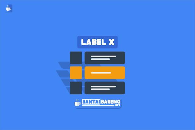 Cara Memasang Widget Daftar Atikel Berdasarkan Label