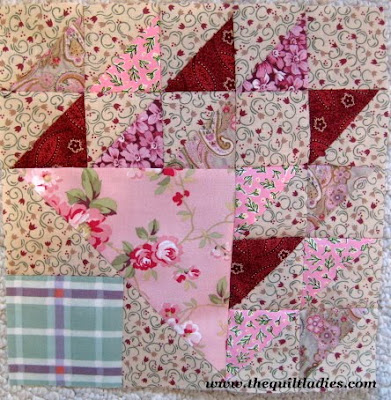 Pine Tree Quilt Pattern Block Tutorial